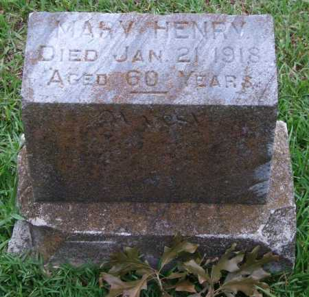 HENRY, MARY - Garland County, Arkansas | MARY HENRY - Arkansas Gravestone Photos