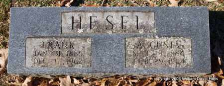 HESEL, AUGUSTA - Garland County, Arkansas | AUGUSTA HESEL - Arkansas Gravestone Photos