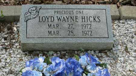 HICKS, LOYD WAYNE - Garland County, Arkansas | LOYD WAYNE HICKS - Arkansas Gravestone Photos