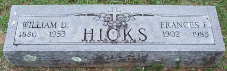 HICKS, FRANCES E. - Garland County, Arkansas | FRANCES E. HICKS - Arkansas Gravestone Photos