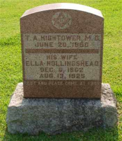 HIGHTOWER, ELLA - Garland County, Arkansas   ELLA HIGHTOWER - Arkansas Gravestone Photos