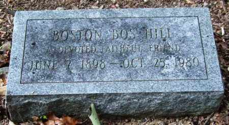 "HILL, BOSTON ""BOS"" - Garland County, Arkansas 