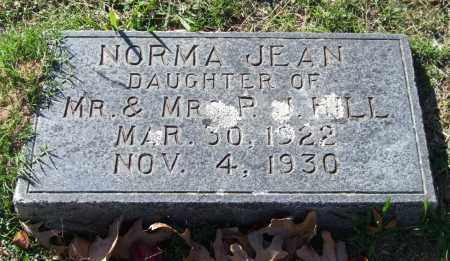 HILL, NORMA JEAN - Garland County, Arkansas | NORMA JEAN HILL - Arkansas Gravestone Photos