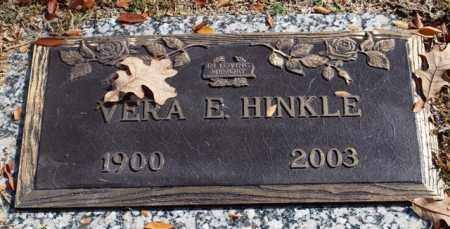BURKE HINKLE, VERA E - Garland County, Arkansas | VERA E BURKE HINKLE - Arkansas Gravestone Photos