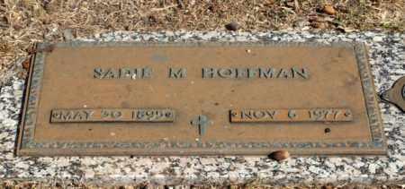 MCCOWAN HOFFMAN, SADIE - Garland County, Arkansas | SADIE MCCOWAN HOFFMAN - Arkansas Gravestone Photos