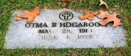 HOGABOOM, OTMA B. - Garland County, Arkansas   OTMA B. HOGABOOM - Arkansas Gravestone Photos