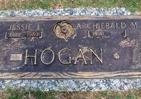 HOGAN, ARCHIEBALD M - Garland County, Arkansas | ARCHIEBALD M HOGAN - Arkansas Gravestone Photos