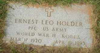 HOLDER (VETERAN 2 WARS), ERNEST LEO - Garland County, Arkansas | ERNEST LEO HOLDER (VETERAN 2 WARS) - Arkansas Gravestone Photos