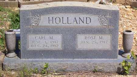 HOLLAND, CARL M. - Garland County, Arkansas | CARL M. HOLLAND - Arkansas Gravestone Photos