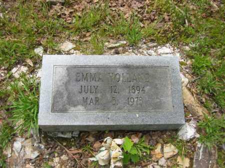 HOLLAND, EMMA - Garland County, Arkansas | EMMA HOLLAND - Arkansas Gravestone Photos