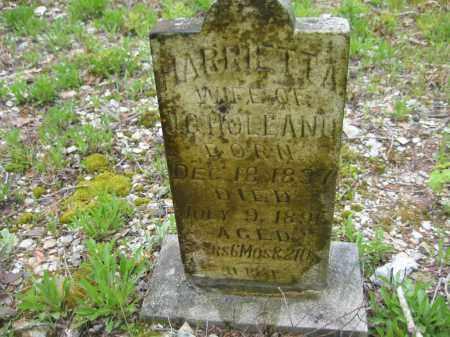 HOLLAND, HARRIETT A - Garland County, Arkansas | HARRIETT A HOLLAND - Arkansas Gravestone Photos