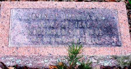HOLLAND, JOHN P. - Garland County, Arkansas | JOHN P. HOLLAND - Arkansas Gravestone Photos