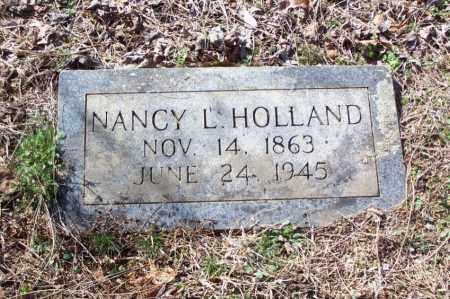 HOLLAND, NANCY L. - Garland County, Arkansas | NANCY L. HOLLAND - Arkansas Gravestone Photos