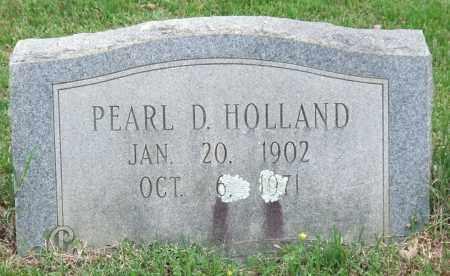 HOLLAND, PEARL D. - Garland County, Arkansas | PEARL D. HOLLAND - Arkansas Gravestone Photos