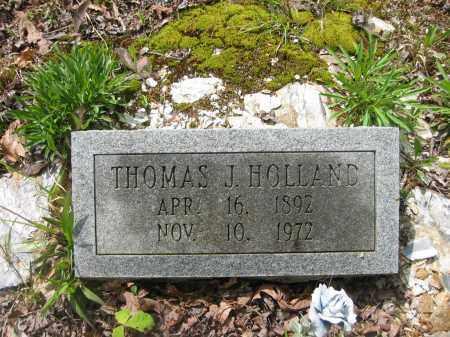 HOLLAND, THOMAS J. - Garland County, Arkansas | THOMAS J. HOLLAND - Arkansas Gravestone Photos