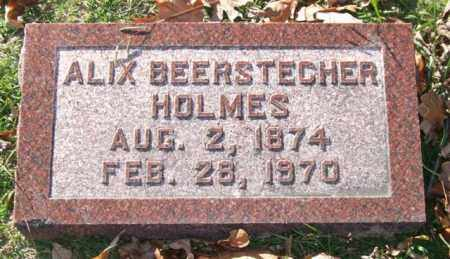BEERSTECHER HOLMES, ALIX - Garland County, Arkansas | ALIX BEERSTECHER HOLMES - Arkansas Gravestone Photos