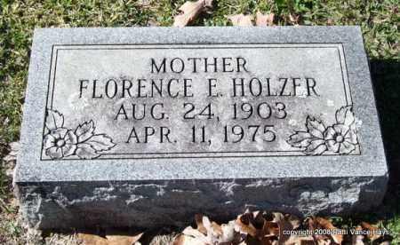 HOLZER, FLORENCE ELIZABETH - Garland County, Arkansas | FLORENCE ELIZABETH HOLZER - Arkansas Gravestone Photos