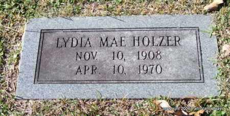 HOLZER, LYDIA MAE - Garland County, Arkansas   LYDIA MAE HOLZER - Arkansas Gravestone Photos