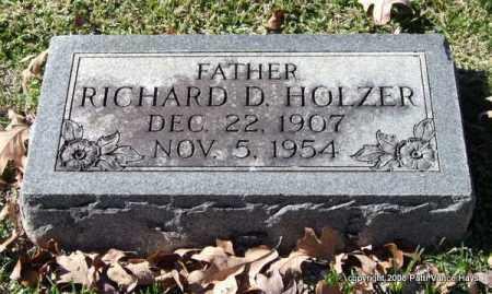 HOLZER, RICHARD D. - Garland County, Arkansas | RICHARD D. HOLZER - Arkansas Gravestone Photos