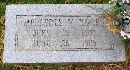 HOOPS, MERCEDES V. - Garland County, Arkansas | MERCEDES V. HOOPS - Arkansas Gravestone Photos