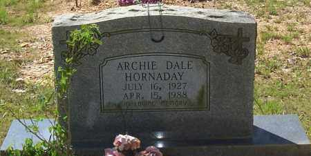HORNADAY, ARCHIE DALE - Garland County, Arkansas | ARCHIE DALE HORNADAY - Arkansas Gravestone Photos