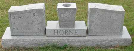 HORNE, SR., GEORGE A. - Garland County, Arkansas | GEORGE A. HORNE, SR. - Arkansas Gravestone Photos