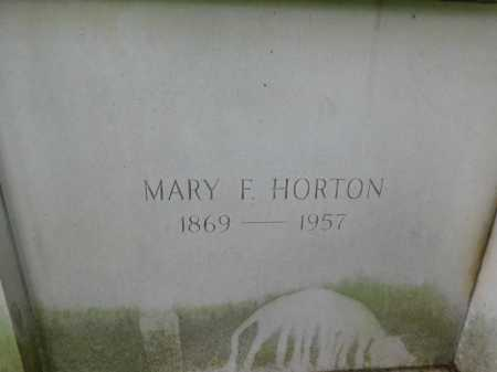 HORTON, MARY F. - Garland County, Arkansas | MARY F. HORTON - Arkansas Gravestone Photos
