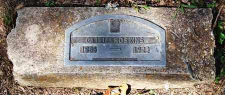 HOSKINS, CARRIE - Garland County, Arkansas | CARRIE HOSKINS - Arkansas Gravestone Photos