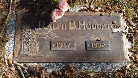 HOUGHTON, RALPH B. - Garland County, Arkansas | RALPH B. HOUGHTON - Arkansas Gravestone Photos