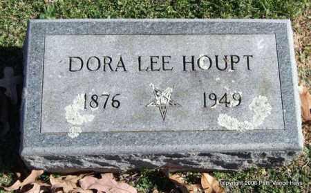 COLE HOUPT, DORA LEE - Garland County, Arkansas | DORA LEE COLE HOUPT - Arkansas Gravestone Photos