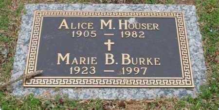 BURKE, MARIE B - Garland County, Arkansas | MARIE B BURKE - Arkansas Gravestone Photos