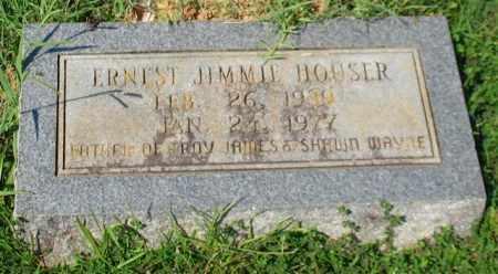 HOUSER, ERNEST JIMMIE - Garland County, Arkansas   ERNEST JIMMIE HOUSER - Arkansas Gravestone Photos