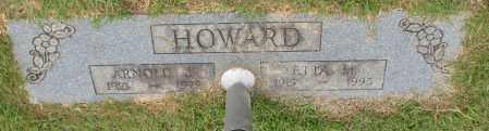 HOWARD, ETTA M. - Garland County, Arkansas | ETTA M. HOWARD - Arkansas Gravestone Photos