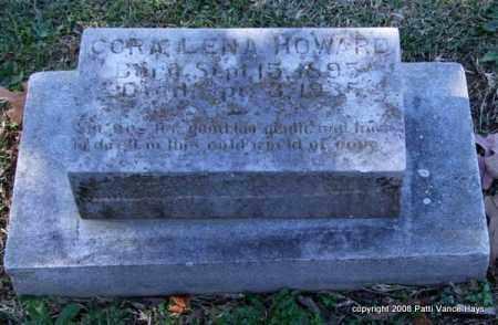 HOWARD, CORA LENA - Garland County, Arkansas | CORA LENA HOWARD - Arkansas Gravestone Photos