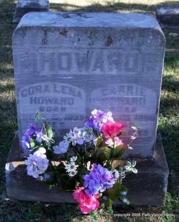 HOWARD, CORA LENA - Garland County, Arkansas   CORA LENA HOWARD - Arkansas Gravestone Photos