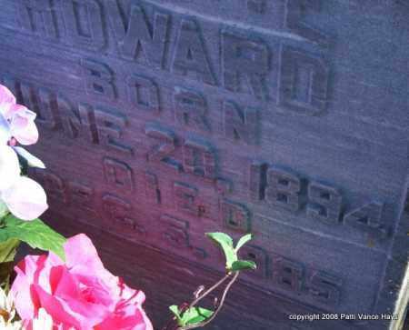 HOWARD, CARRIE (CLOSE UP) - Garland County, Arkansas | CARRIE (CLOSE UP) HOWARD - Arkansas Gravestone Photos