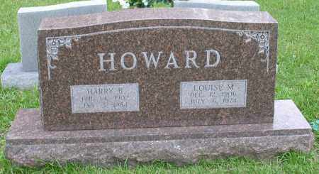 HOWARD, LOUISE M. - Garland County, Arkansas | LOUISE M. HOWARD - Arkansas Gravestone Photos