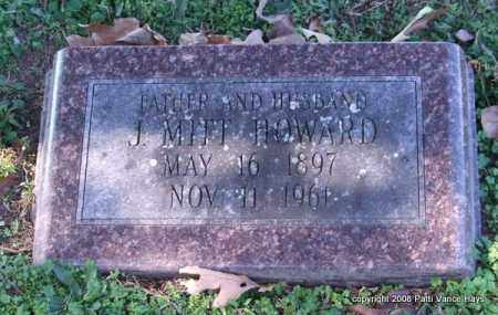 HOWARD, J. MITT - Garland County, Arkansas | J. MITT HOWARD - Arkansas Gravestone Photos