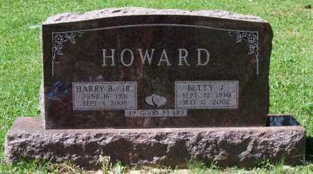 HOWARD, BETTY J. - Garland County, Arkansas | BETTY J. HOWARD - Arkansas Gravestone Photos