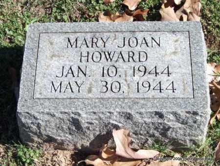 HOWARD, MARY JOAN - Garland County, Arkansas | MARY JOAN HOWARD - Arkansas Gravestone Photos