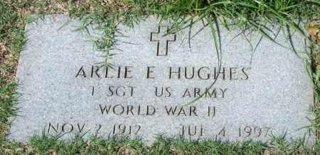 HUGHES (VETERAN WWII), ARLIE E. - Garland County, Arkansas   ARLIE E. HUGHES (VETERAN WWII) - Arkansas Gravestone Photos