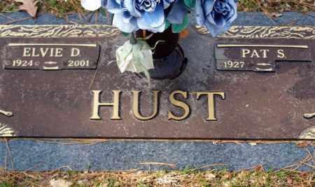 HUST, ELVIE D - Garland County, Arkansas | ELVIE D HUST - Arkansas Gravestone Photos