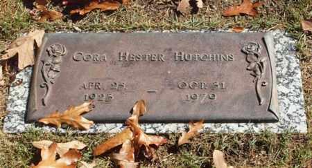 DANIELS HUTCHINS, CORA HESTER - Garland County, Arkansas | CORA HESTER DANIELS HUTCHINS - Arkansas Gravestone Photos