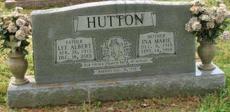 HUTTON, INA MARIE - Garland County, Arkansas | INA MARIE HUTTON - Arkansas Gravestone Photos