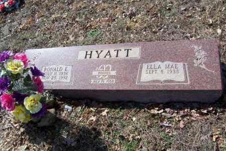 HYATT, RONALD E. - Garland County, Arkansas | RONALD E. HYATT - Arkansas Gravestone Photos