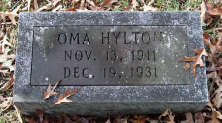 HYLTON, OMA - Garland County, Arkansas | OMA HYLTON - Arkansas Gravestone Photos