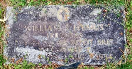 HYMUS (VETERAN WWI), WILLIAM S. - Garland County, Arkansas | WILLIAM S. HYMUS (VETERAN WWI) - Arkansas Gravestone Photos