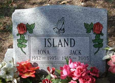 ISLAND, JACK - Garland County, Arkansas | JACK ISLAND - Arkansas Gravestone Photos