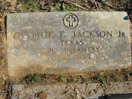 JACKSON, JR. (VETERAN WWII), GEORGE E. - Garland County, Arkansas   GEORGE E. JACKSON, JR. (VETERAN WWII) - Arkansas Gravestone Photos
