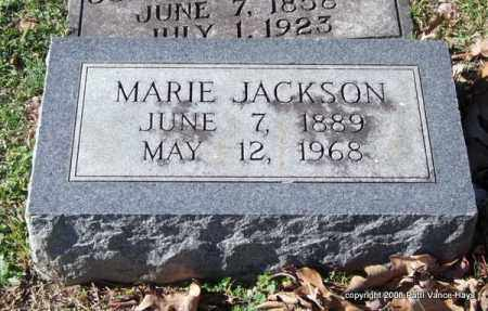 JACKSON, MARIE - Garland County, Arkansas | MARIE JACKSON - Arkansas Gravestone Photos